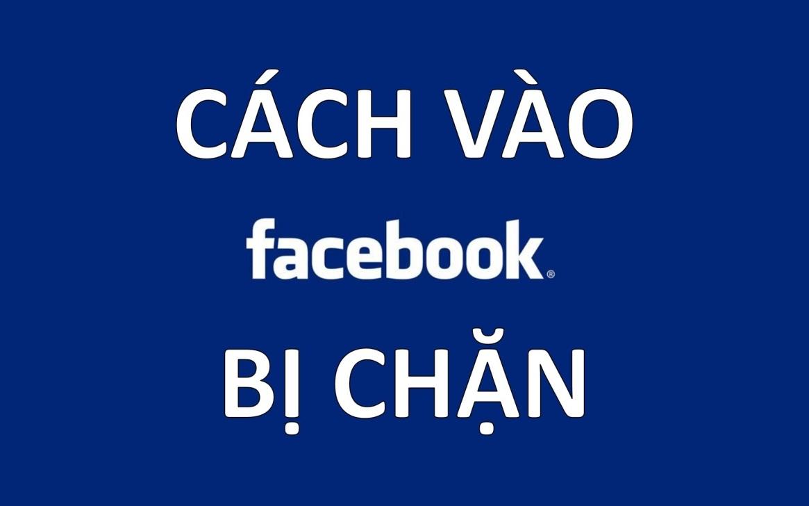 đăng nhập facebook bị chặn
