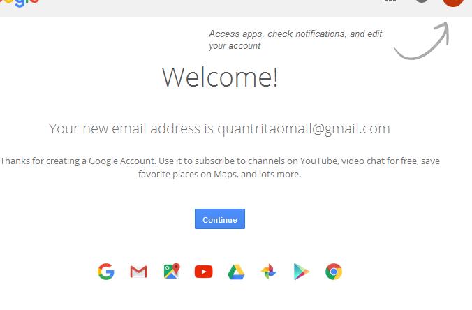 Hòa mình vào thế giới mạng nhờ đăng kí gmail miễn phí