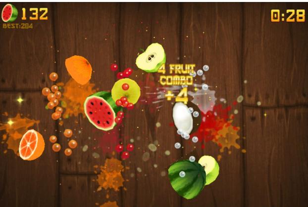 Hướng dẫn chơi game chém hoa quả
