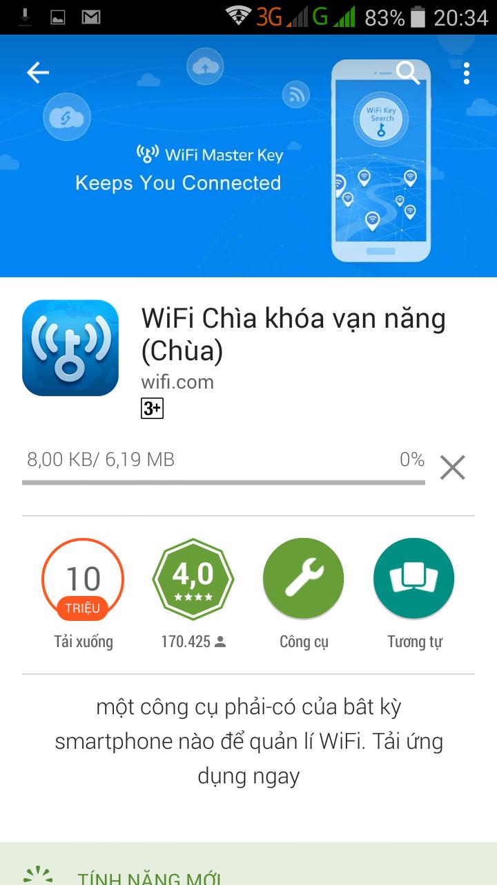 sử dụng wifi miễn phí