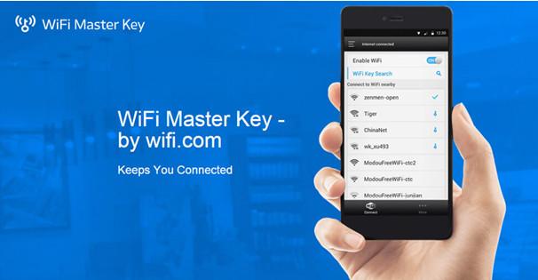 sử dụng wifi chìa khóa vạn năng