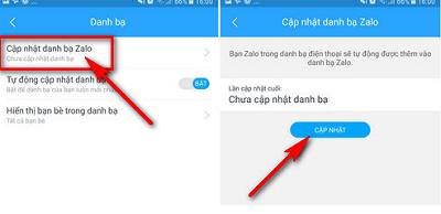 đăng nhập Zalo bằng điện thoại