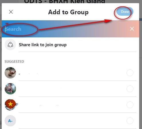 gửi một liên lạc skype cho người khác
