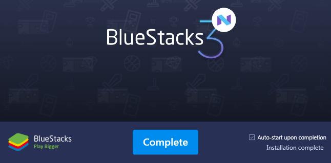Giả lập android trên PC với phần mềm Bluestack 3