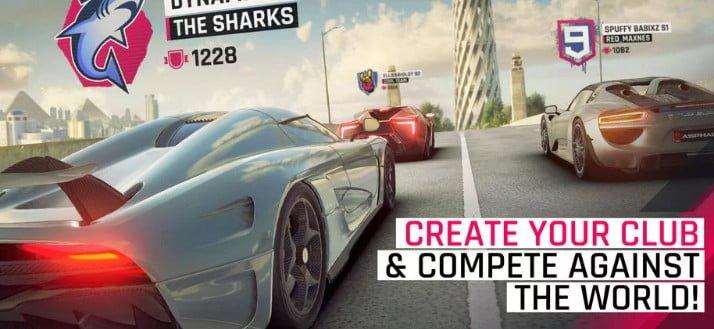 Tải game asphalt 9 cho điện thoại android trên CHplay