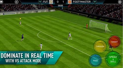 Cách chơi fifa 2018 soccer trên pc như điện thoại