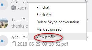 tạo nhóm chat trong skpye