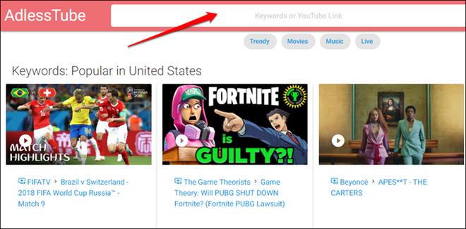 04 trang web giúp bạn tắt quảng cáo youtube trên pc