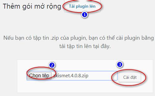 làm sao Cài đặt plugin wordpress