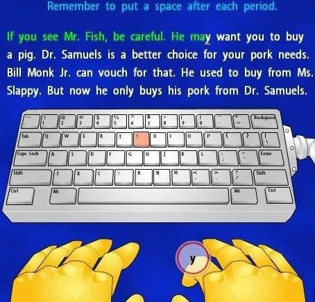 Download game Typer Shark Deluxe luyện kỹ năng đánh chữ
