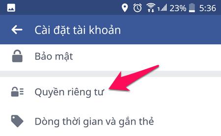 Cách ẩn hoạt động kết bạn, theo dõi trên Facebook