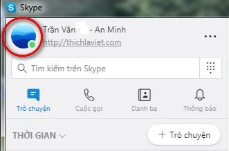 xuất lịch sử skype