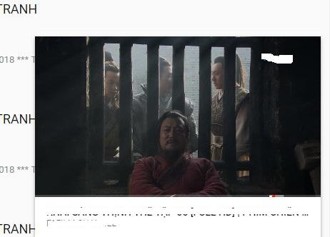 thu nhỏ video đang xem vào góc dưới màn hình