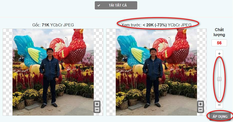 cách giảm dung lượng file ảnh