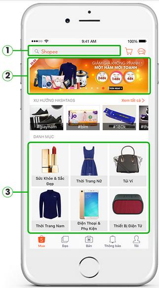 Hướng dẫn cách mua hàng shopee trên điện thoại