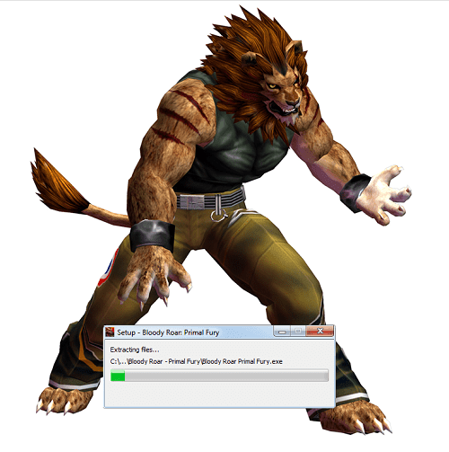 phím tắt Bloody Roar Primal Fury