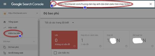 Đưa bài viết nhanh lên google