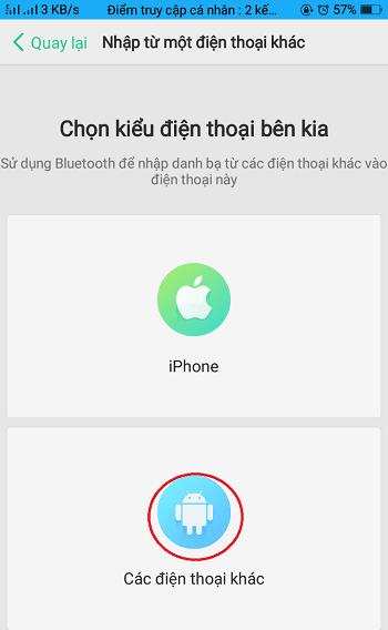 cách xuất danh bạ điện thoại Oppo a83
