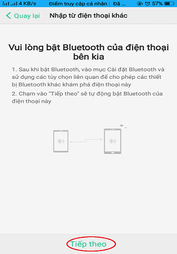 xuất danh bạ điện thoại Oppo 2019