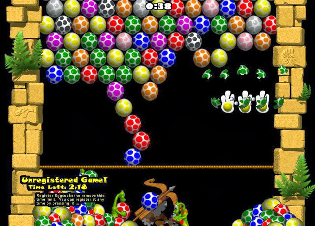 cách chơi Game bắn trứng khủng long