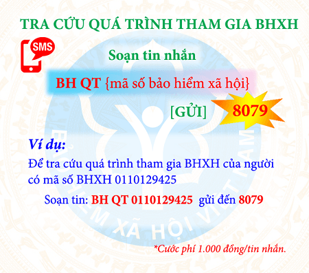 tra cứu quá trình tham gia BHXH