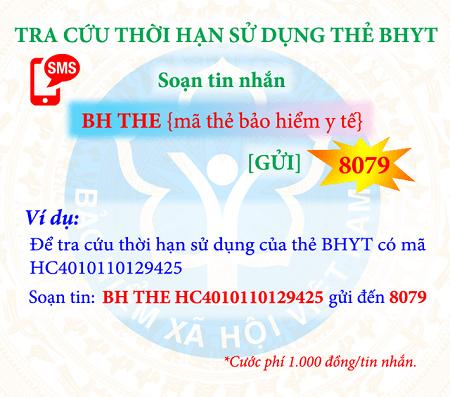 tin nhắn tra cứu quá trình tham gia BHXH