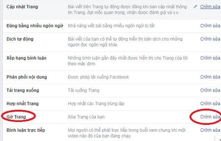 Cách xóa fanpage facebook vĩnh viễn