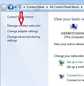 Kết nối Wifi cho laptop thành công