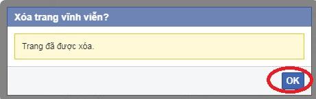 làm sao xóa fanpage facebook