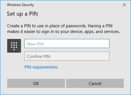 cách đặt mật khẩu mới