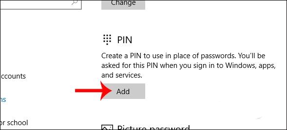 hướng dẫn đặt pass khi mở máy tính