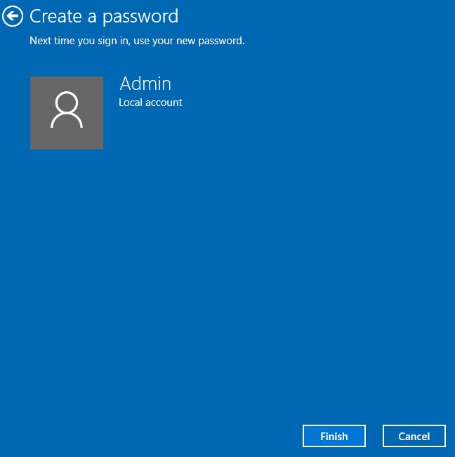 đặt pass khi mở máy tính trên windows 10
