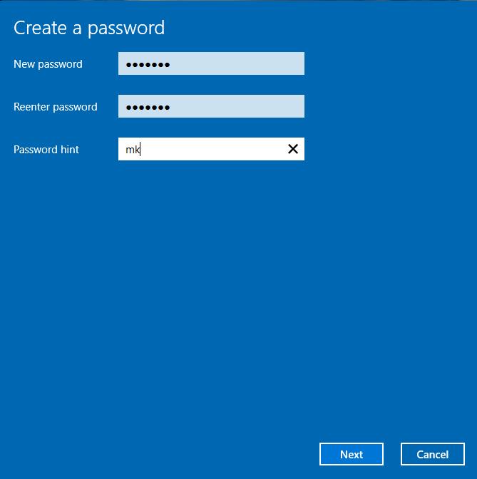 Cách đặt pass khi mở máy tính trên windows 10 và windows 7