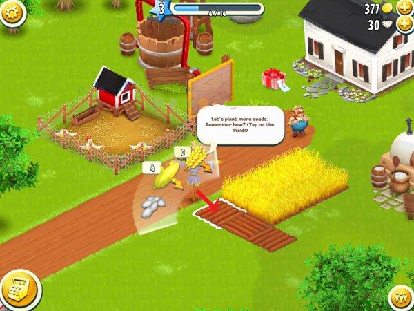 08 việc cần làm khi bắt đầu chơi game nông trại Hay day