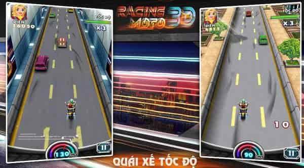Thử tài tốc độ với game dua xe moto 3d cho android