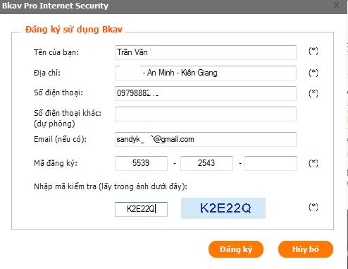 tải phần mềm diệt virus Bk