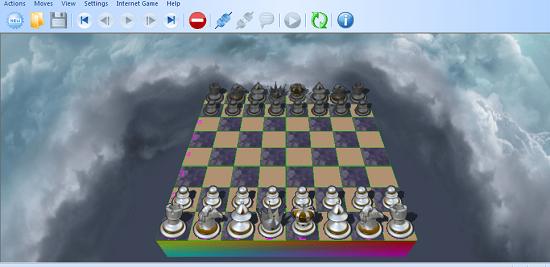 Tải game cờ vua Offline Falco Chess đồ họa 3D