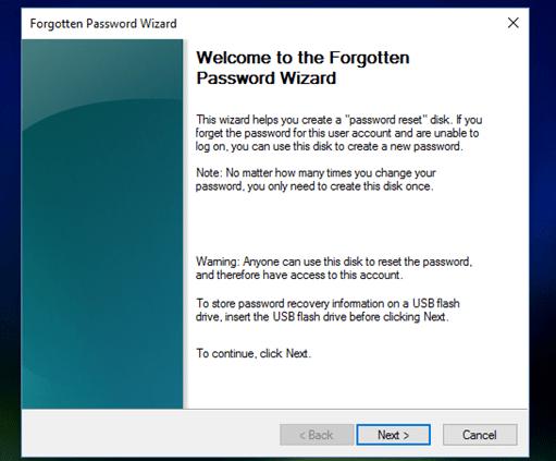 quên mật khẩu windows