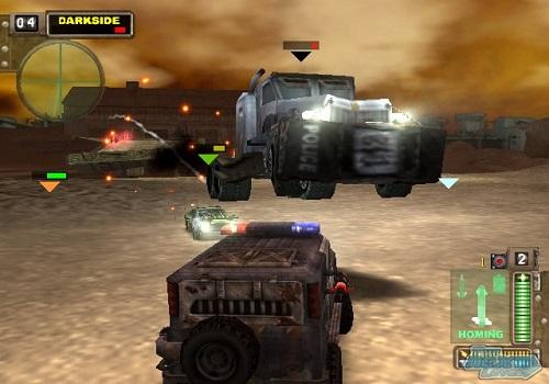 Tải game Twisted Metal 2 – Vừa đua xe vừa bắn súng