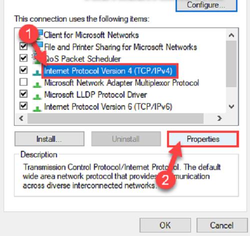 cách thay đổi IP