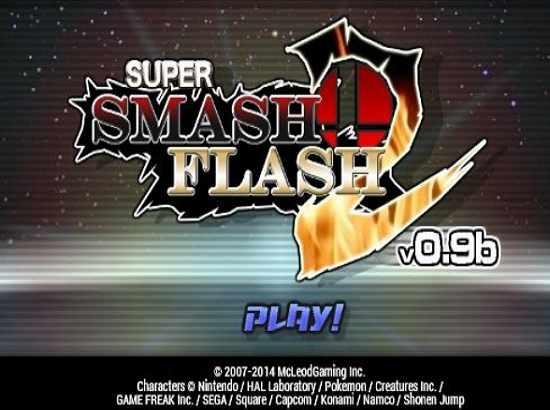 Download Game Super Smash Flash 2, tổng hợp nhiều nhân vật nổi tiếng