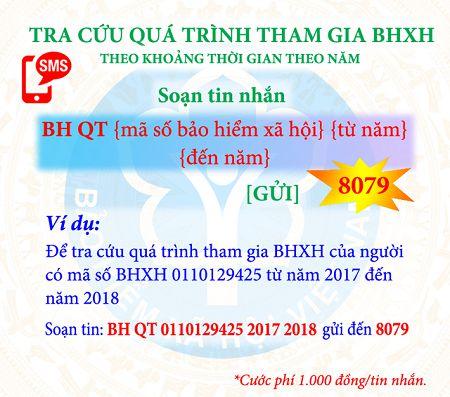tra cứu thời gian tham gia BHXH