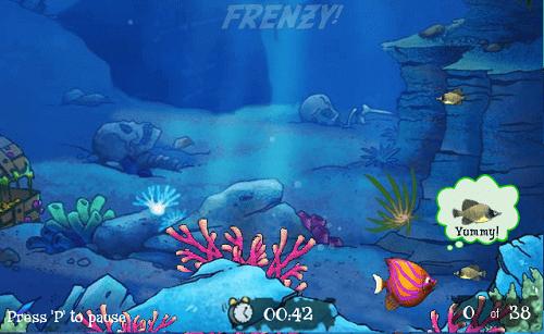Tải game ăn cá kinh điển 1 thời, Cá lớn nuốt cá bé mới nhất